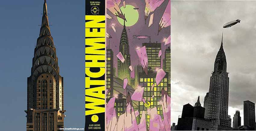 Watchmen Chrysler Building